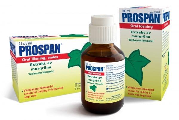 الاثار الجانبية لدواء بروسبان Prospan