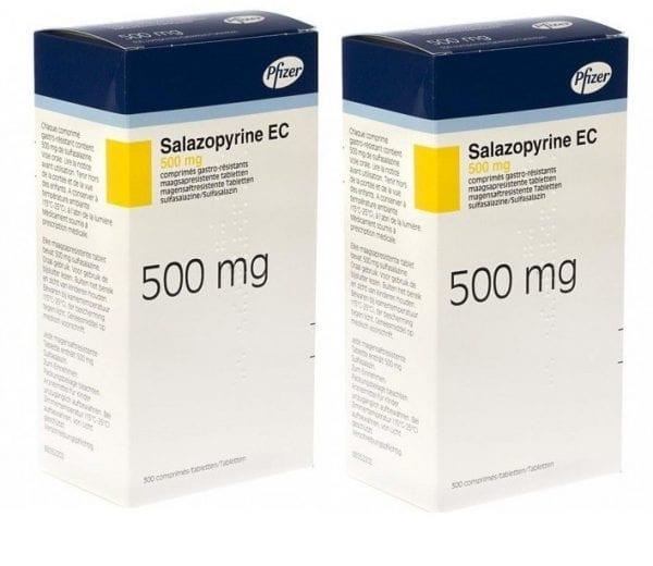 دواء سالازوبيرين لعلاج التهاب الامعاء
