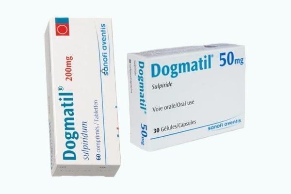 موانع استخدام دوجماتيل Dogmatilt