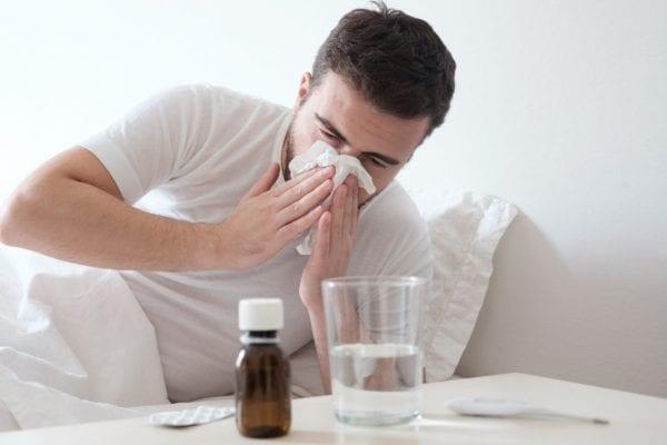 اسباب الاصابة بالانفلونزا