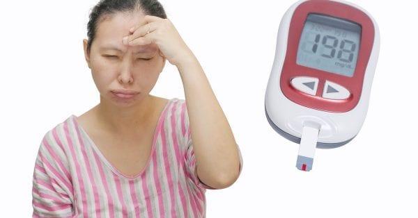 اعراض انخفاض السكر للحامل